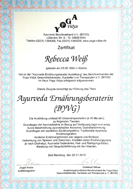 zertifkat-ayurdveda-ernaehrungsberaterin-rebecca-weiss